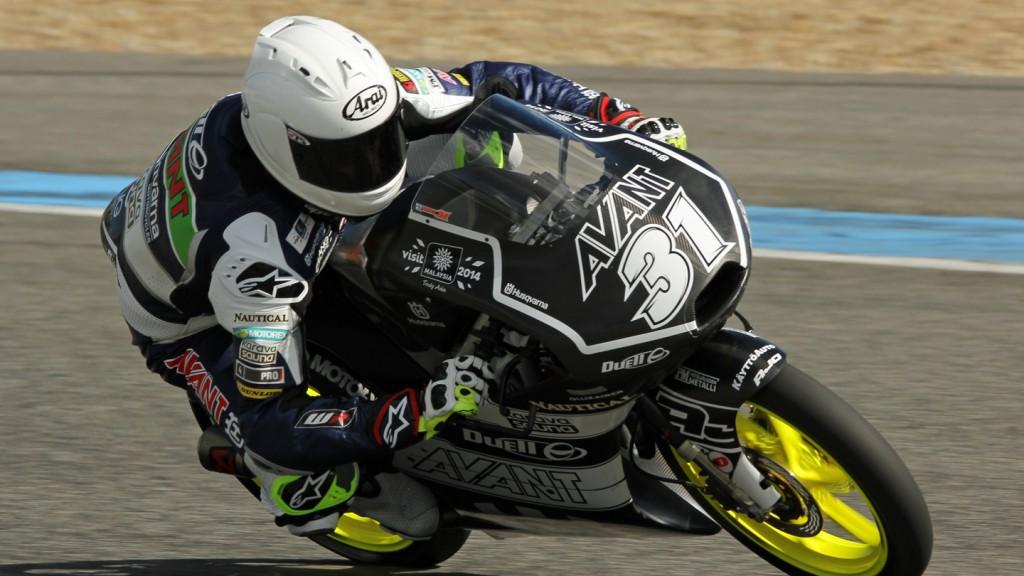 Niklas Ajo, Avant Tecno Husqvarna Ajo, Jerez Test © Max Kroiss