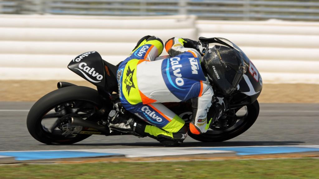 Isaac Viñales, Team Calvo, Jerez Test © Max Kroiss