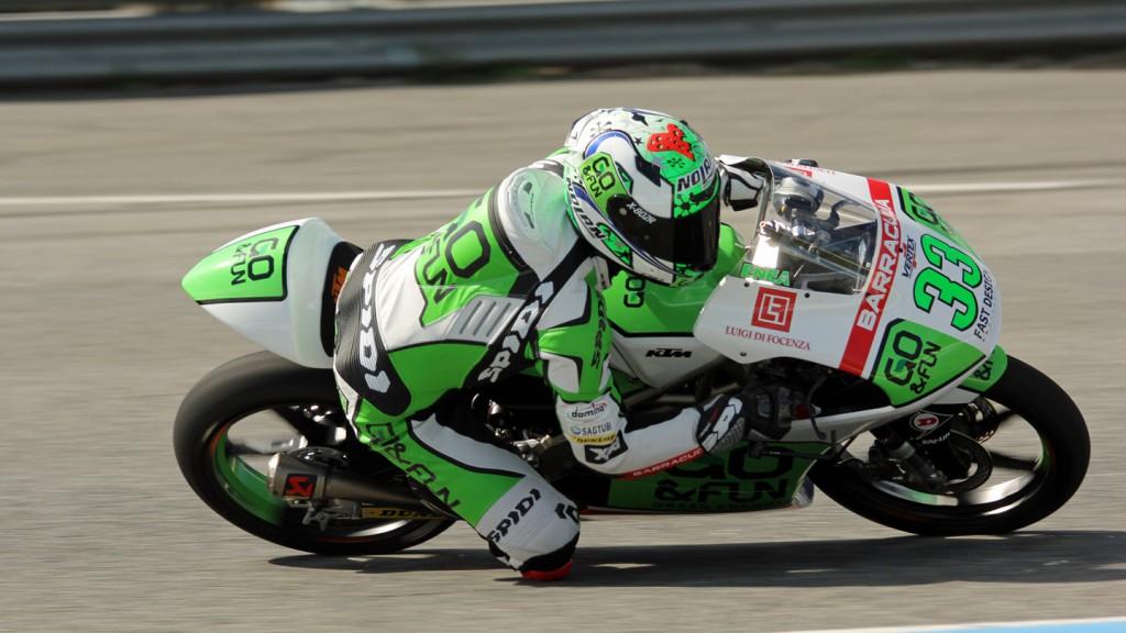 Enea Bastianini, Junior Team GO&FUN Moto3, Jerez Test © Max Kroiss