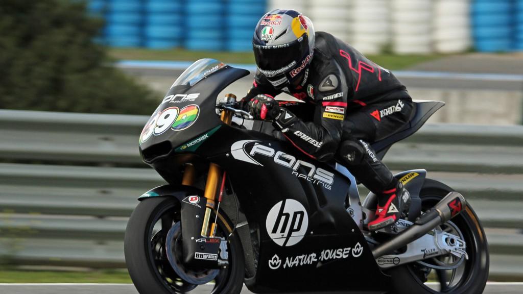 Luis Salom, Tuenti HP 40, Jerez Test © Max Kroiss