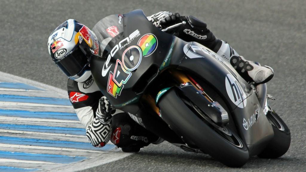 Maverick Viñales, Pons HP 40, Jerez Test © Max Kroiss