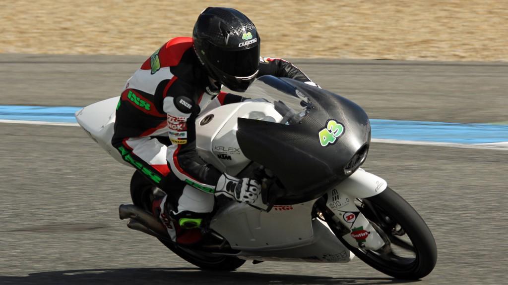 Luca Grünwald, Kiefer Racing, Jerez Test © Max Kroiss