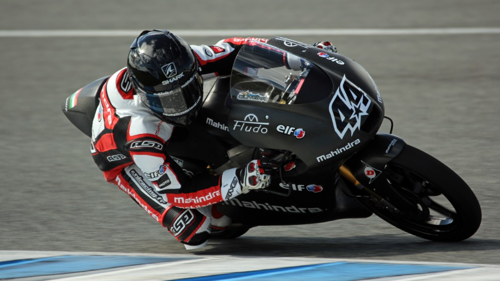 Miguel Oliveira, Mahindra Racing, Jerez Test © Max Kroiss