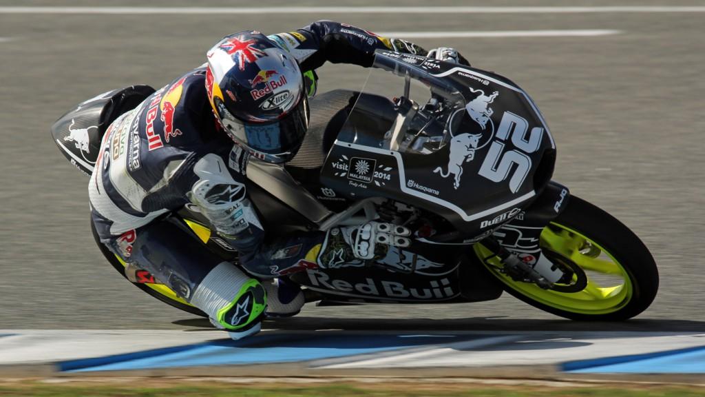 Danny Kent, Red Bull Husqvarna Ajo, Jerez Test © Max Kroiss
