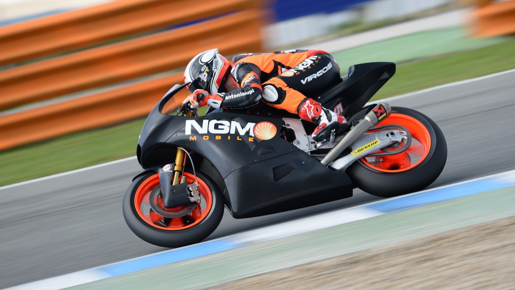 Mattia Pasini, NGM Mobile Forward Racing, Jerez Test