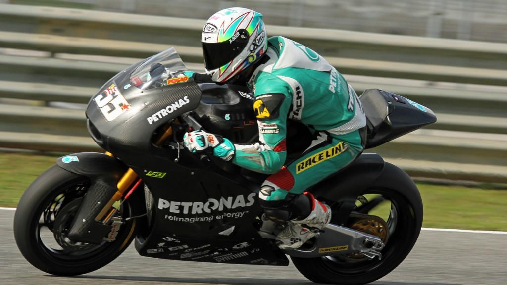 Hafizh Syahrin, Petronas Raceline Malaysia, Jerez Test © Max Kroiss