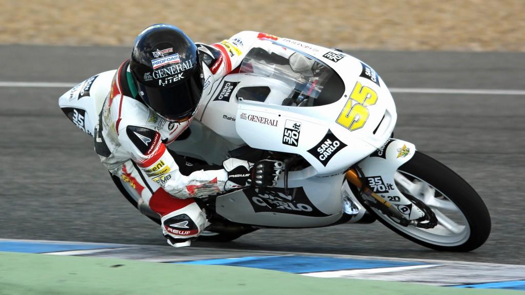 Andrea Locatelli, San Carlo Team Italia, Jerez Test © Max Kroiss