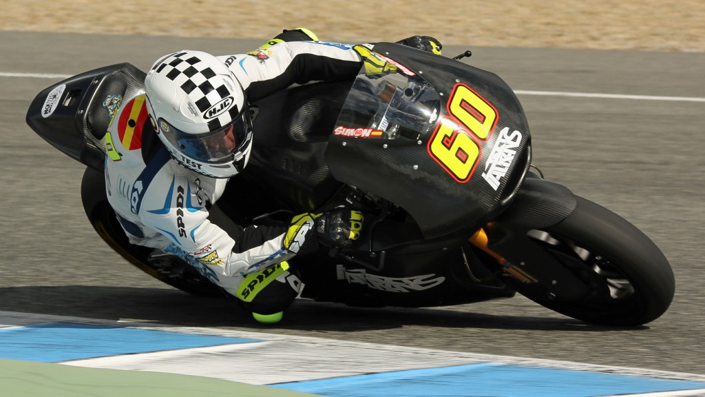 Julian Simon, Italtrans Racing Team, Jerez Test © Max Kroiss