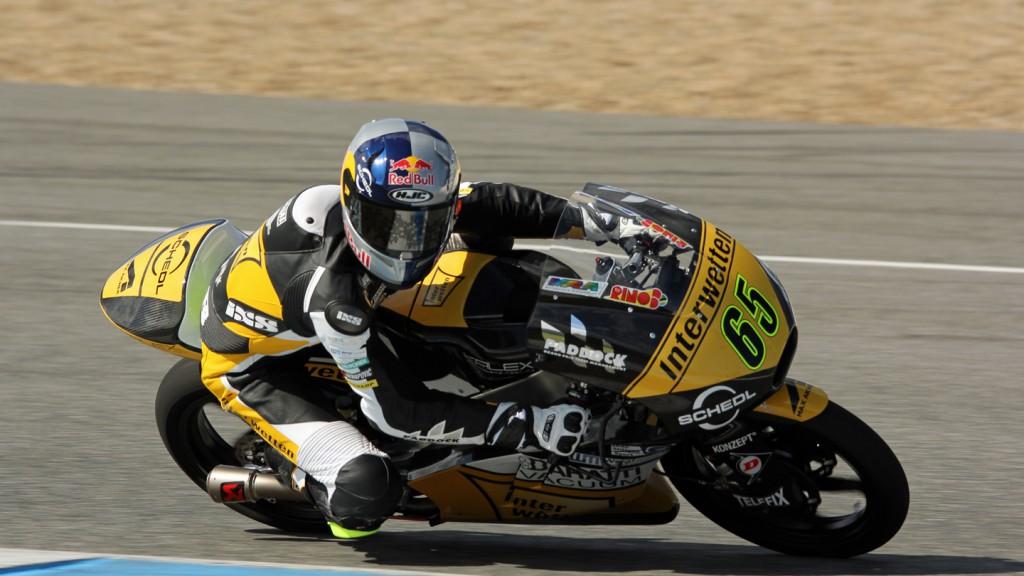 Philipp Oettl, Interwetten Paddock Moto3, Jerez Test © Max Kroiss