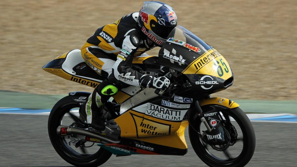 Phillip Oettl, Interwetten Paddock Moto3, Jerez Test © Max Kroiss