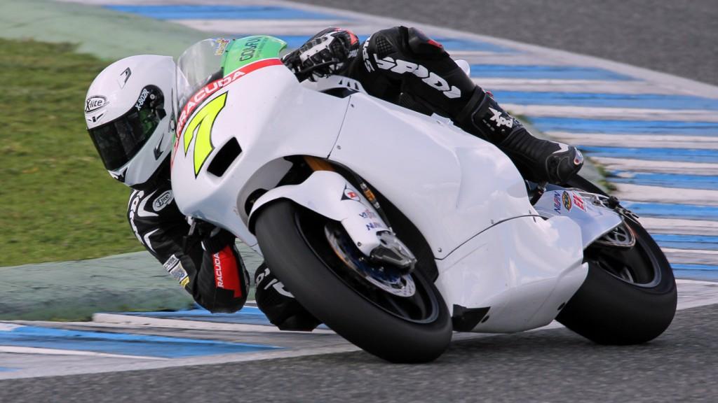 Lorenzo Baldassarri, Gresini Moto2, Jerez Test © Max Kroiss