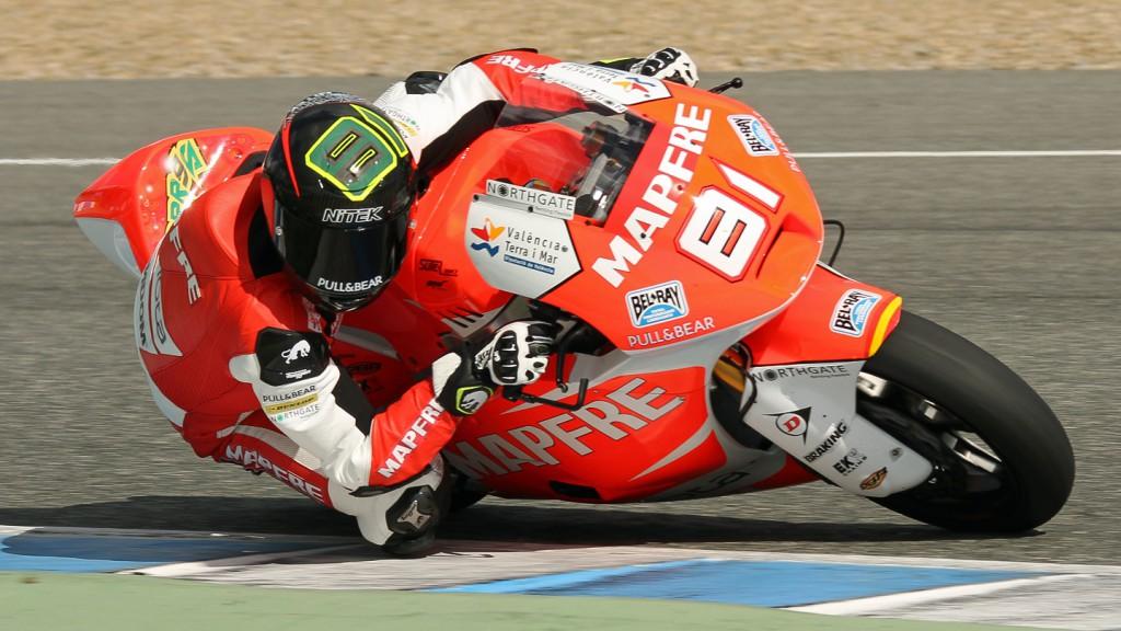 Jordi Torres, Mapfre Aspar Team Moto2, Jerez Test © Max Kroiss