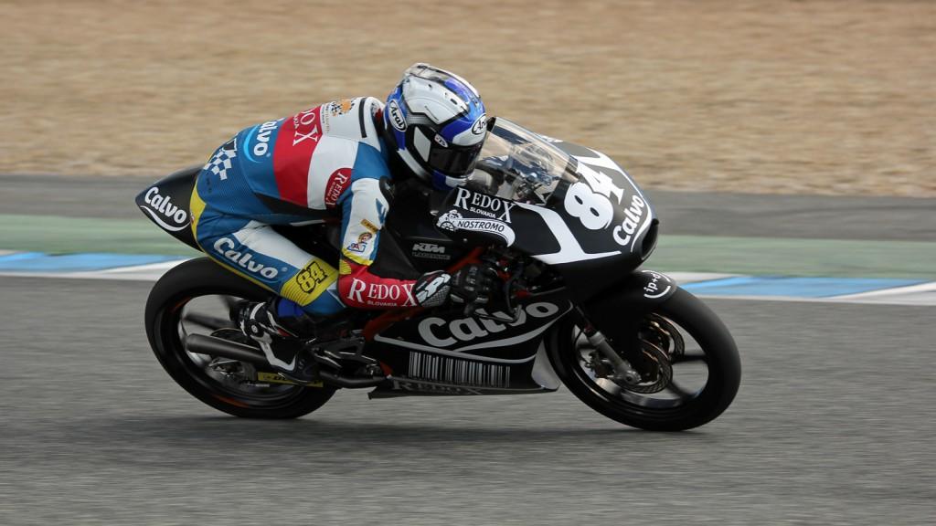Jakub Kornfeil, Team Calvo, Jerez Test © Max Kroiss