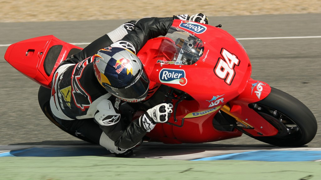 Jonas Folger, Argiñano & Gines Racing, Jerez Test © Max Kroiss
