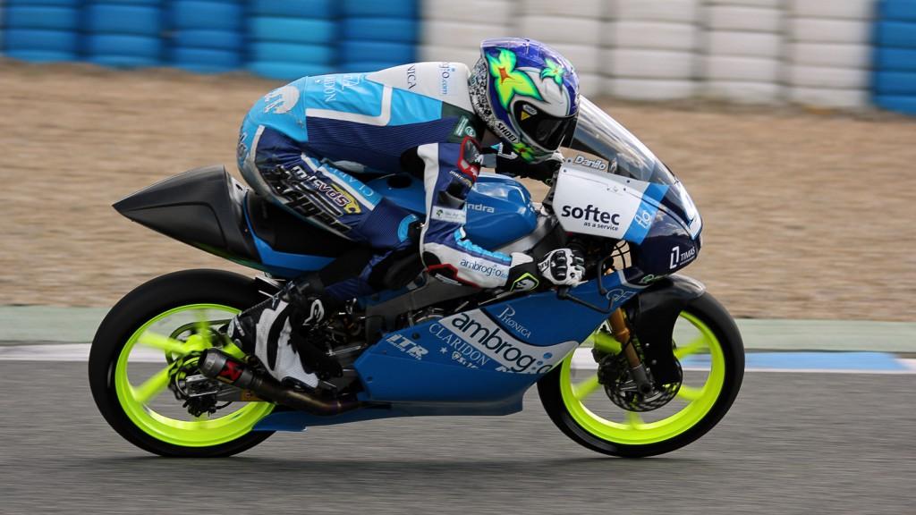 Jules Danilo, Ambrogio Racing, Jerez Test © Max Kroiss