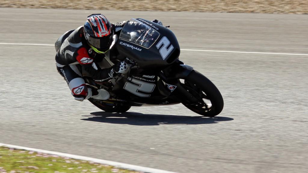 Josh Herrin, Caterham Moto Racing, Jerez Test © Max Kroiss