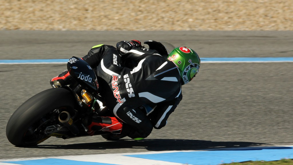Randy Krummenacher, IodaRacing Project, Jerez Test © Max Kroiss
