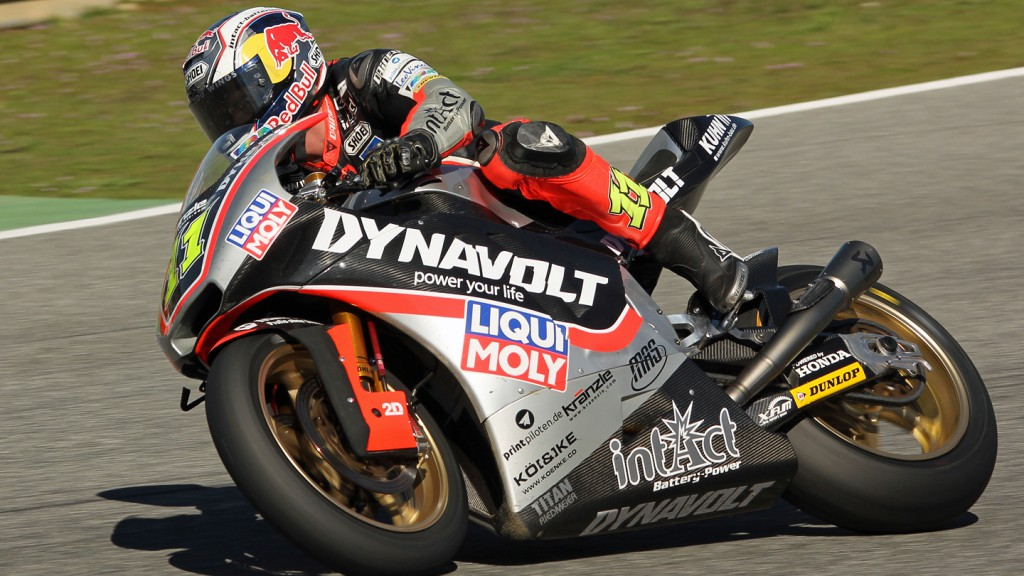Sandro Cortese, Dynavolt Intact GP, Jerez Test © Max Kroiss