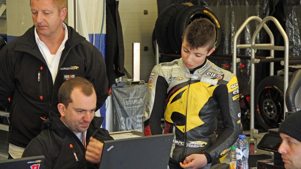 Livio Loi, Marc VDS Racing Team, Jerez Test © Max Kroiss