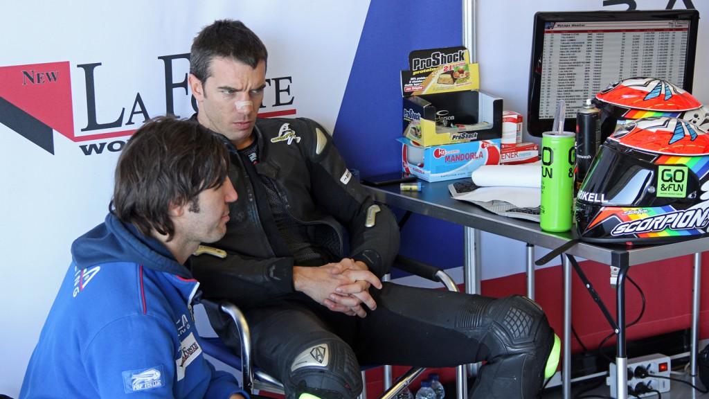 Alex de Angelis, Tasca Racing Moto2, Jerez Test © Max Kroiss