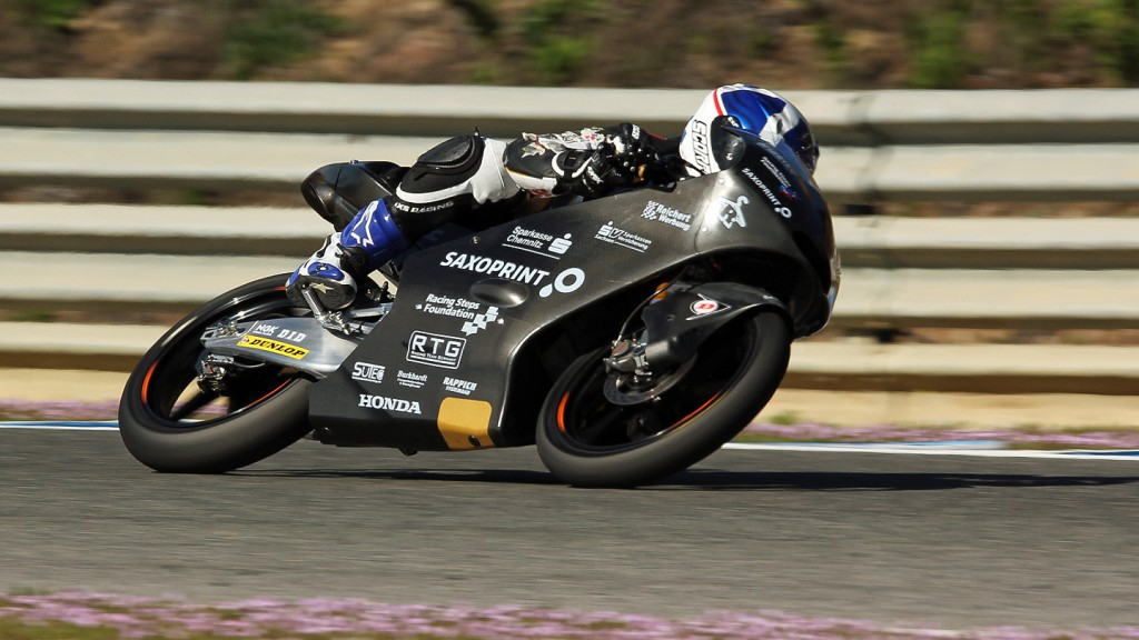 John Mcphee, Racing Team Germany, Jerez Test © Max Kroiss
