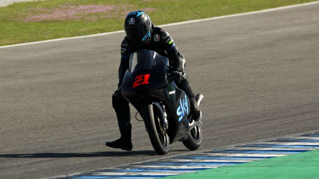 Francesco Bagnaia, Team SKY by VR46, Jerez Test © Max Kroiss