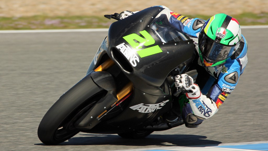 Franco Morbidelli, Italtrans Racing Team, Jerez Test © Max Kroiss