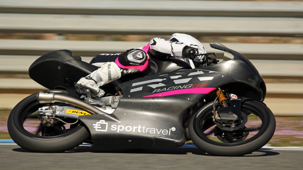 Ana Carrasco, RW Racing GP, Jerez Test © Max Kroiss