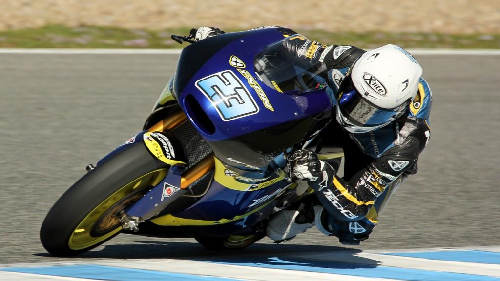 Marcel Schrotter, Tech 3, Jerez Test © Max Kroiss
