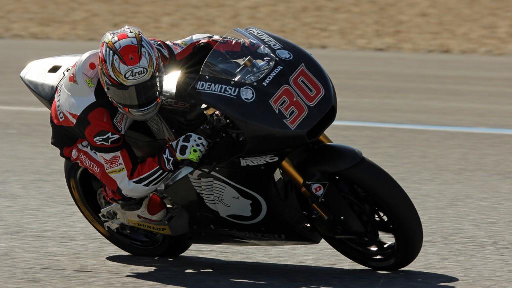 Takaaki Nakagami, Idemitsu Honda Team Asia, Jerez Test © Max Kroiss