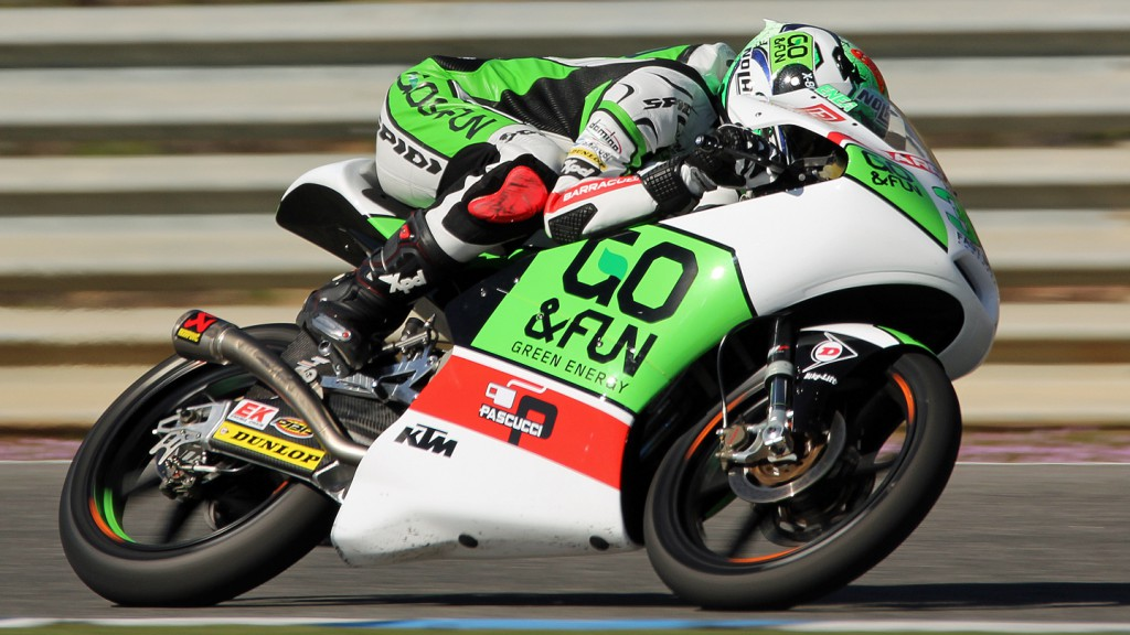 Enea Bastianini, Junior Team GO&FUN Moto3, Jerez Test © Max Kroiss