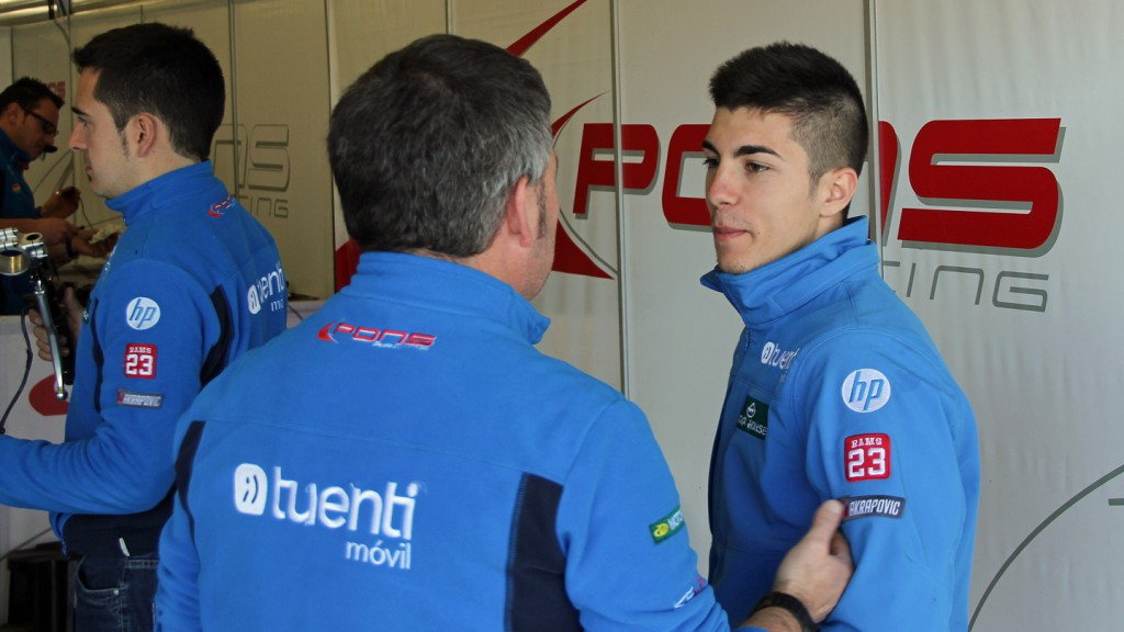 Maverick Viñales, Tuenti HP 40, Jerez Test © Max Kroiss