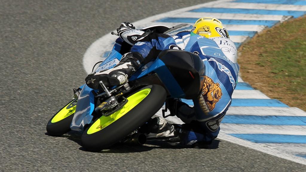 Brad Binder, Ambrogio Racing, Jerez Test © Max Kroiss