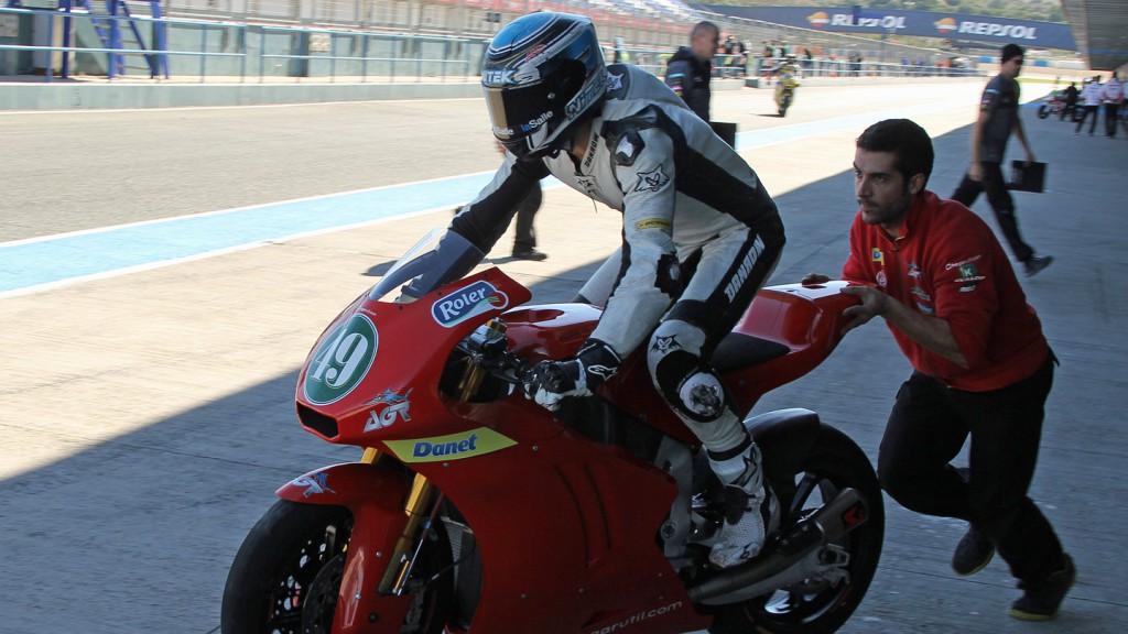 Axel Pons, Argiñano & Gines Racing, Jerez Test © Max Kroiss