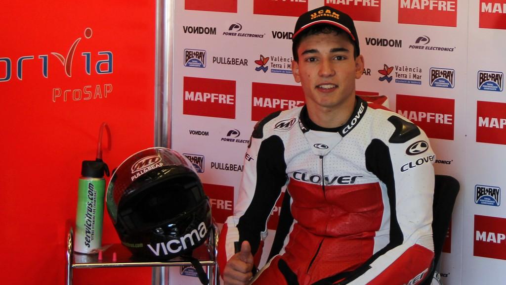 Juanfran Guevara, Mapfre Aspar Team Moto3, Jerez Test © Max Kroiss