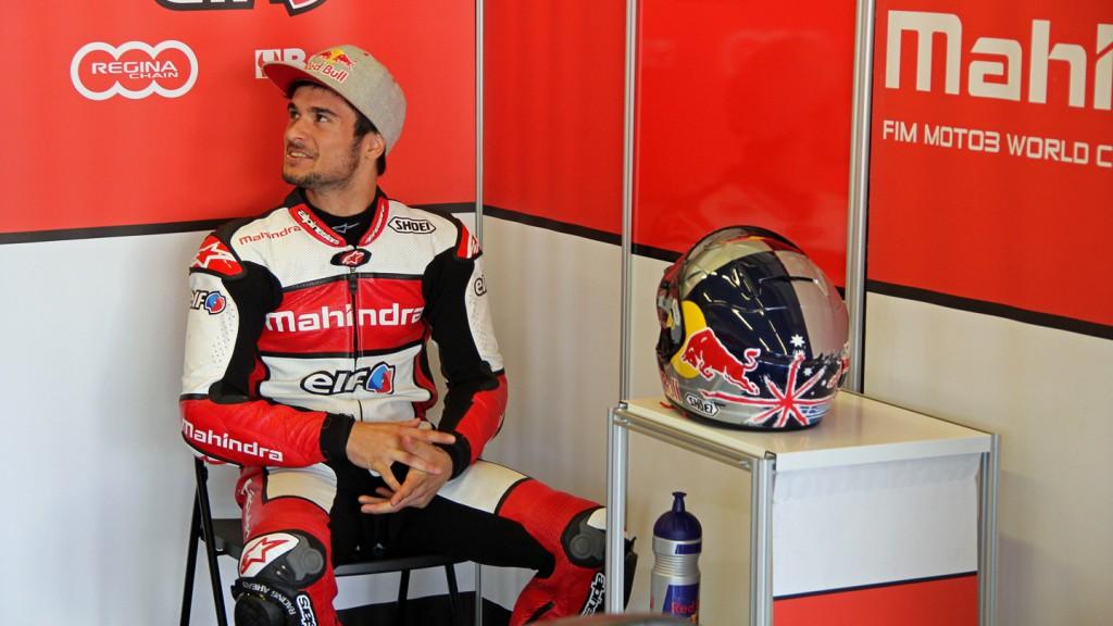 Arthur Sissis, Mahindra Racing, Jerez Test © Max Kroiss