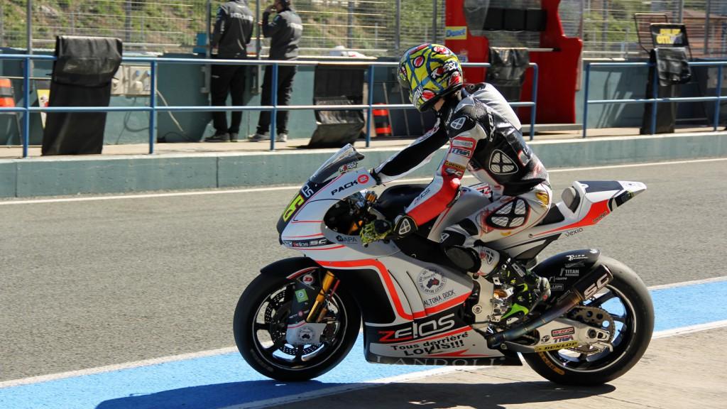 Louis Rossi, SAG Team, Jerez Test © Max Kroiss