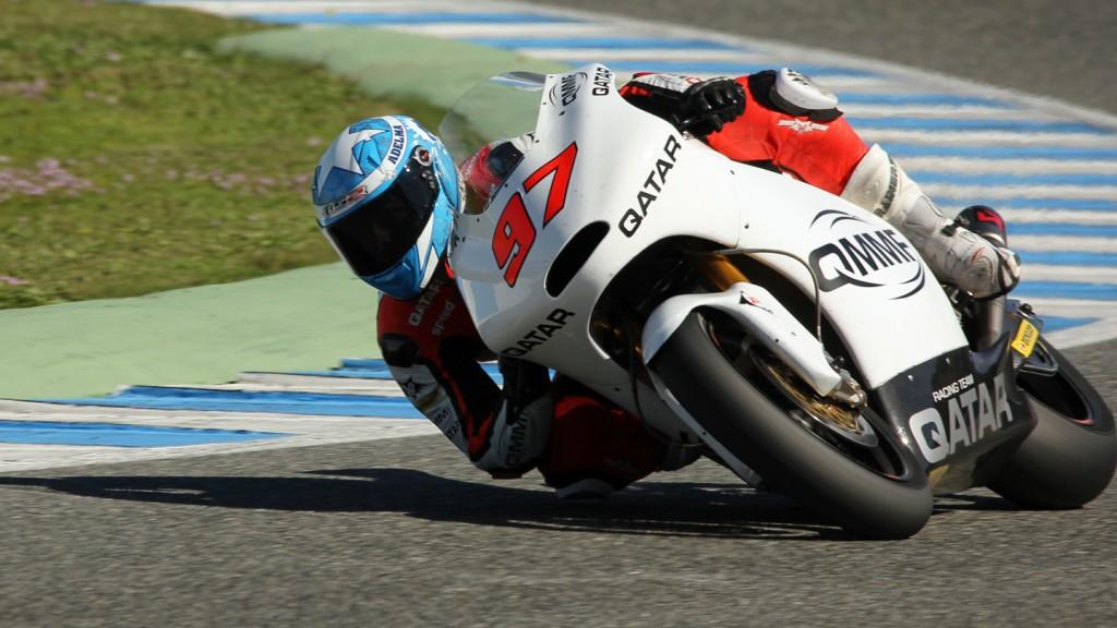 Roman Ramos, QMMF Racing Team, Jerez Test © Max Kroiss