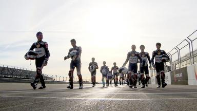 Shell Advance Asia Talent Cup riders train in Aragón