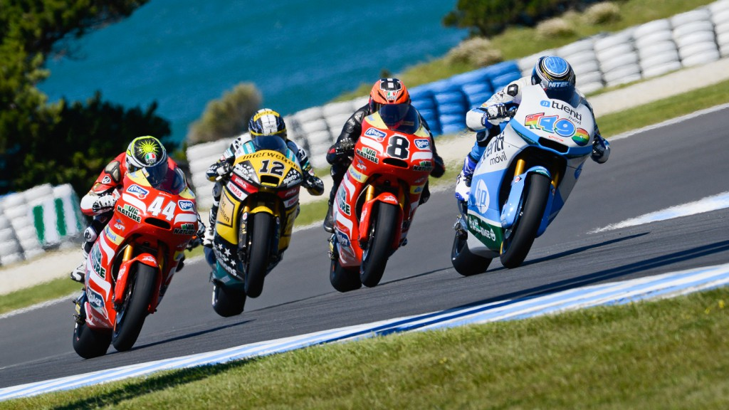 Moto2 Action, Phillip Island