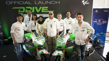 Drive M7 Aspar Team Presents 2014 Line-up at Sepang