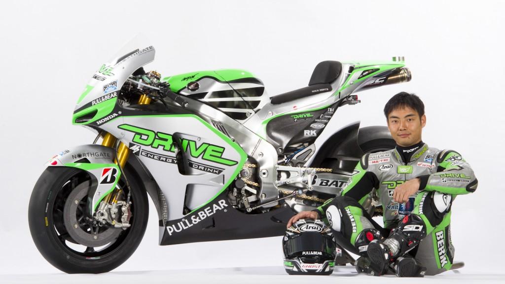 Hiroshi Aoyama, Drive M7 Aspar Team