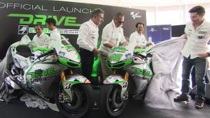 DRIVE M7 Aspar Team presents 2014 project at Sepang