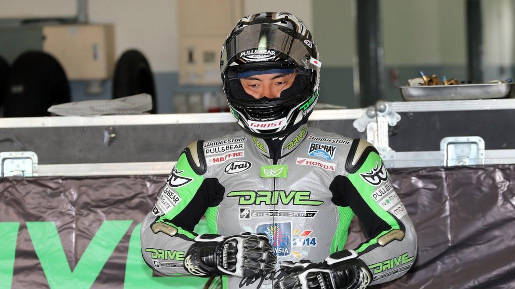 Hiroshi Aoyama, Drive M7 Aspar, Sepang Test