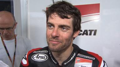 Crutchlow searching for improved rear grip