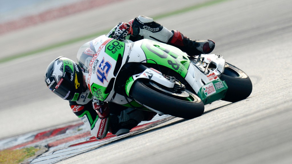 Scott Redding, GO&FUN Honda Gresini, Sepang Test