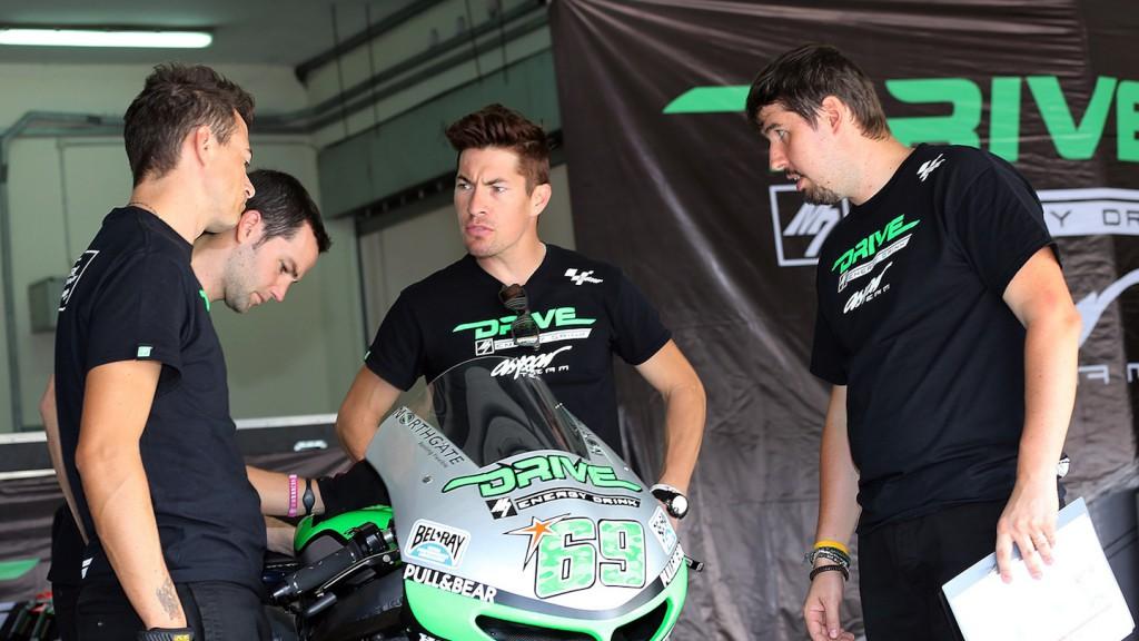 Nicky Hayden, Drive M7 Aspar, Sepang Test