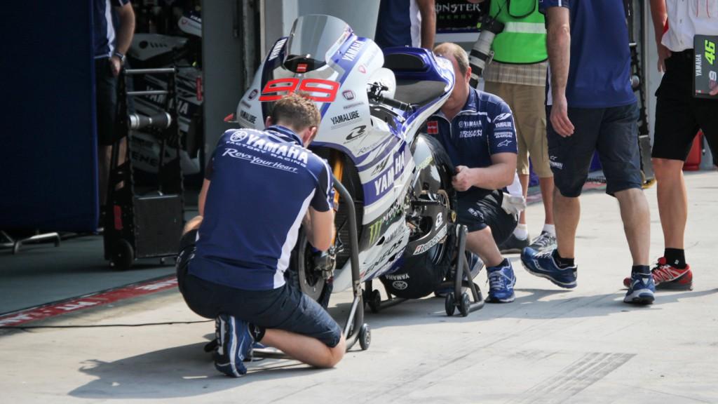 Yamaha YZR M1, Jorge Lorenzo, Yamaha Factory Racing, Sepang Test