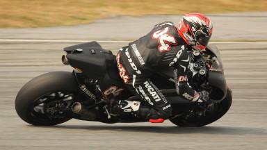 Andrea Dovizioso, Ducati Team, Sepang Test © Max Kroiss