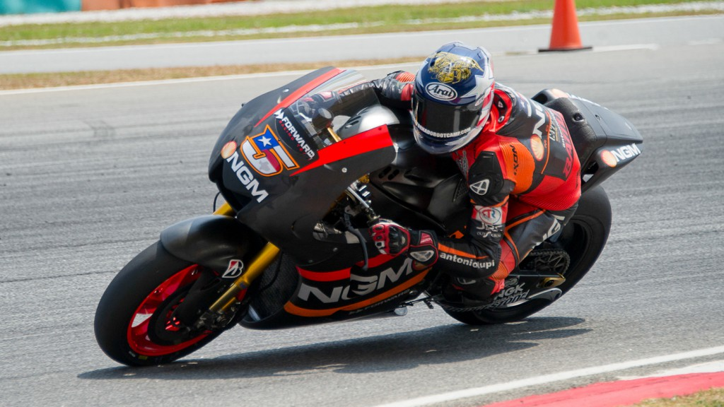 Colin Edwards, NGM Mobile Forward Racing, Sepang Test © Max Kroiss